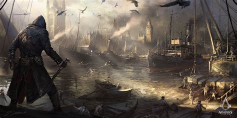 Assassins Creed Syndicate Westminster River By Daroz On