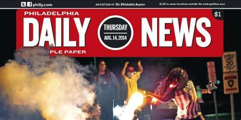 Philadelphia Daily News Scraps Ferguson Front Page After ...