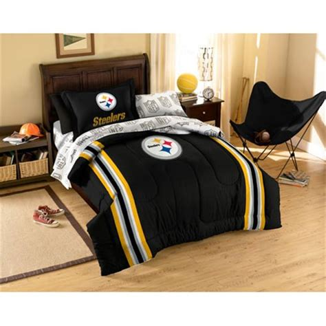 pittsburgh steeler bedding set twin full comforter kids queen