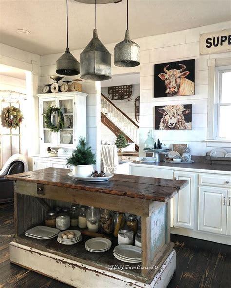 what to put on a kitchen island farmhouse kitchen rustic industrial kitchen kitchen 2161