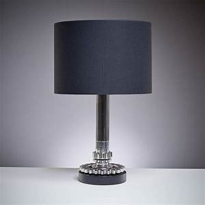 formula one 39raced39 gear ratio and layshaft table lamp by With formula 1 table lamp