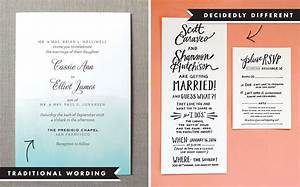 wedding invitation wording and etiquette With wedding invitations and what to include