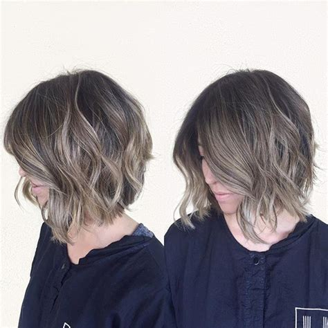 Cool Hair Colors For Black Hair by 50 Balayage Hairstyles For Hair Balayage