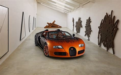 2018 Bugatti Veyron Grand Sport By Bernar Venet Review