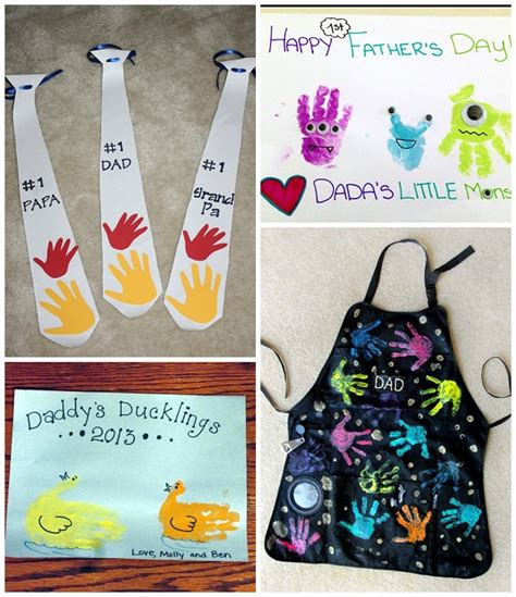 fathers day craft ideas preschoolers s day handprint gift ideas from crafty morning 846