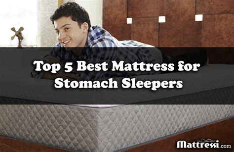 Best Beds For Stomach Sleepers by Best Mattress For Stomach Sleepers Top 5 Checklist