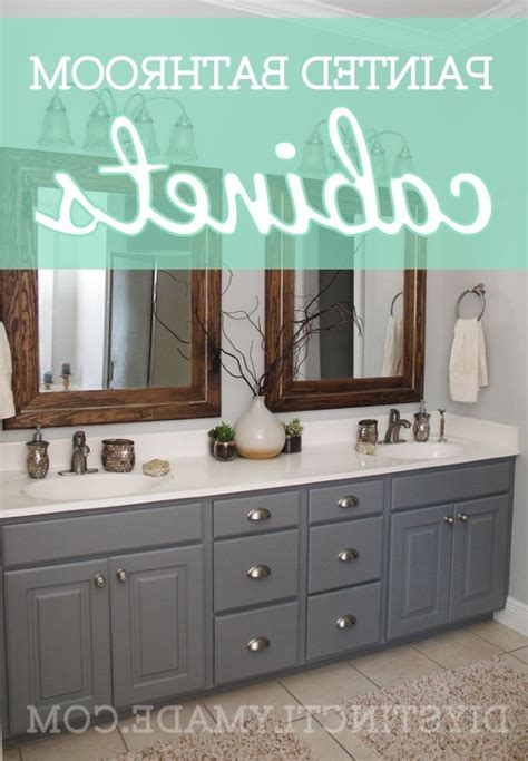 best paint for bathroom cabinets painting wood bathroom cabinets