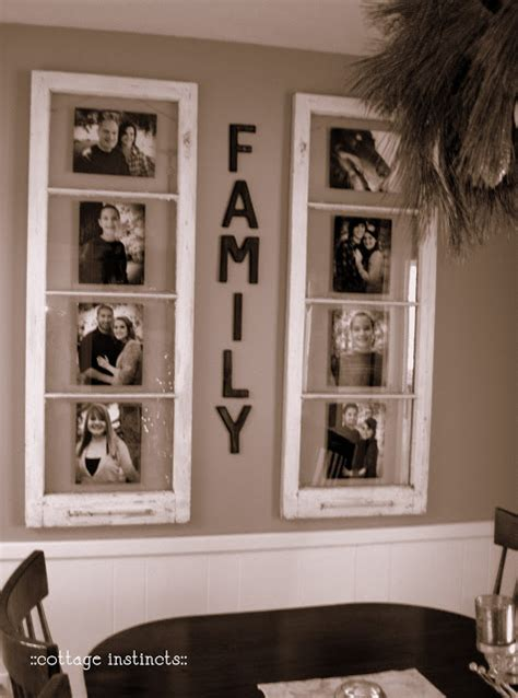 Key hole hangers for hanging. Old Windows as Pictures Frames | Home Design, Garden & Architecture Blog Magazine
