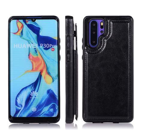 wallet case huawei p lite zwart phone factory