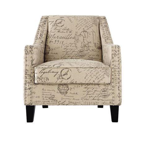 script accent chair homesullivan tufted barrel back linen accent