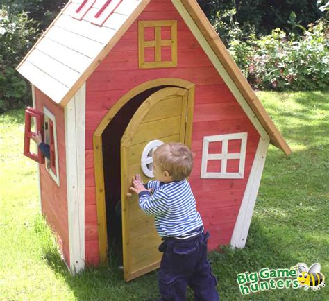 Crooked Cottage Wooden Playhouse