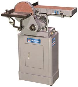 king canada kc     belt disc sander kms tools