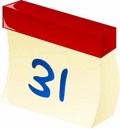 Calendar Tear Clipart Vector Clip Date Dates
