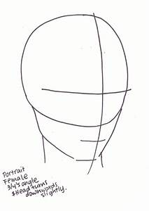 How To Draw Faces At A 3  4 U0026 39 S Angle
