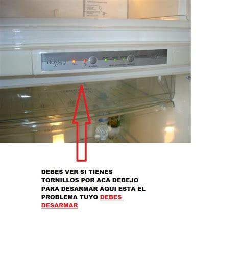 manual heladera whirlpool no 390 muebles de cocina