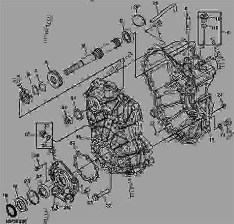 John Deere Gator Transmission Diagram Image Deer