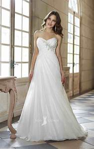 train long trumpet strapless sweetheart beach wedding With sleeveless wedding dresses