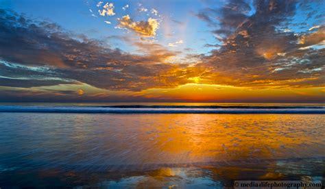Beach Ocean Sunset Surfing Pacific Coast La Jolla Del Mar