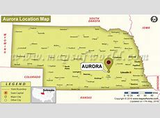 Where is Aurora, Nebraska