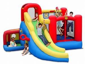 Aire De Jeux Extérieur Pas Cher : ch teau gonflable playground de happy hop jeux d ~ Preciouscoupons.com Idées de Décoration
