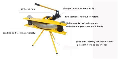 hand operated hydraulic pipe bender machinery lathe