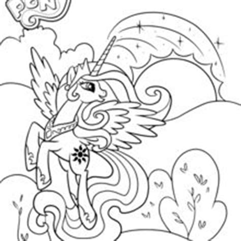 coloriages princesse celestia frhellokidscom