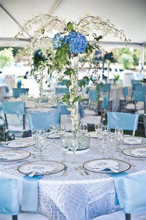 light blue and white wedding decorations light blue wedding decorationswedwebtalks wedwebtalks