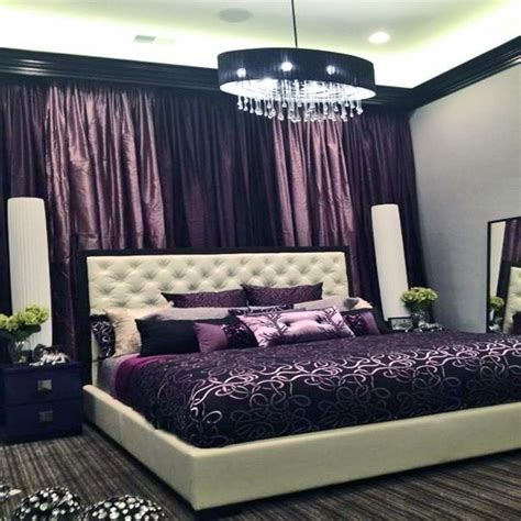 purple inspired bedrooms are curtains out of style black and purple teen bedroom 13000