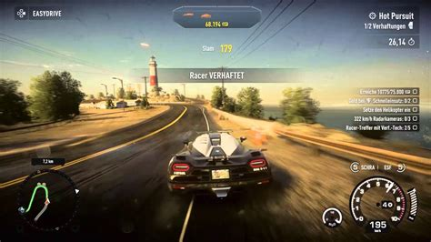 Need For Speed Rivals Koenigsegg Agera R Pursuit Ps4