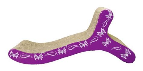 chaise butterfly catit style scratcher with catnip butterfly chaise