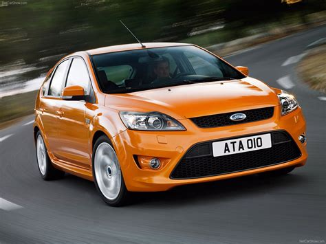 ford focus mk2 facelift electric orange ford focus st mk2 facelift focus ford st mk2 ford focus ford