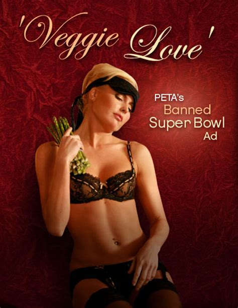 peta is for with veggie love the future of ads