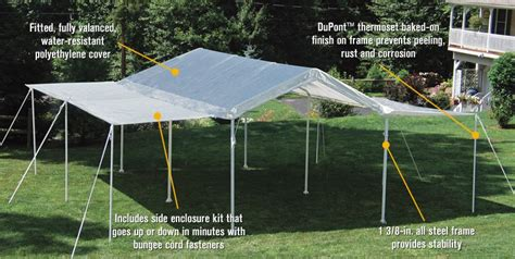 canopy extension image  loading white shade canopy extension tent cover  ft