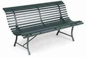 categorie banc de jardin du guide et comparateur d39achat With mobilier de jardin fermob 6 banc de jardin 4 places en acier longueur 200cm louisiane