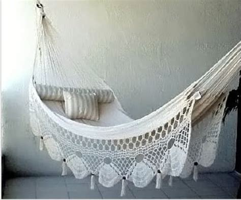 Brazilian Hanging Hammock Chair by Summer Days 12 Gorgeous Crochet Hammocks For Relaxation