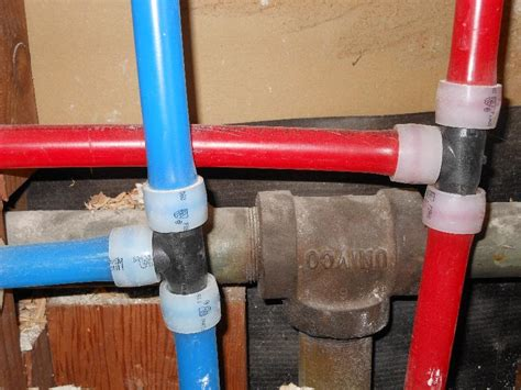 Pex Plumbing by How To Repipe A House With Pex Mycoffeepot Org