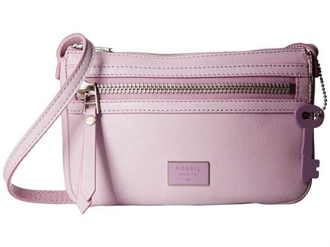 Fossil Dawson Crossbody Camel brand new fossil dawson mini leather crossbody bags pink