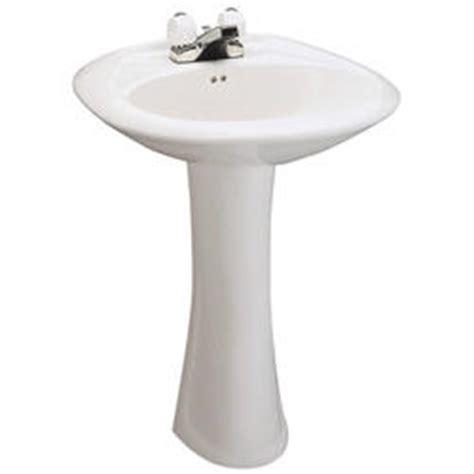 mansfield maverick pedestal bathroom sink 4 quot faucet
