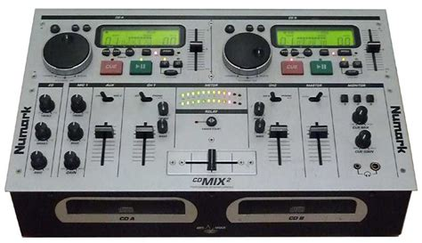 Numark Cd Mix2 Twin Cd Player For Dj Or Club Free Data