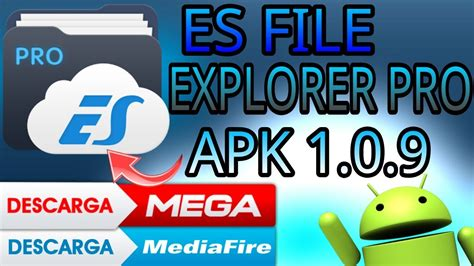 es file explorer pro 1 0 9 apk pro version of android apkhouse es file explorer pro 1 0 9 apk y youtube
