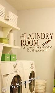 laundry room vinyl wall decal the laundry room for same With best brand of paint for kitchen cabinets with vinyl wall art decals graphics stickers