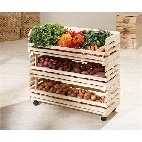 meuble a legumes pour cuisine legumes maxi cageots empilables