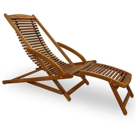 plan de chaise longue en bois transat chaise longue bois mobilier de jardin achat vente chaise longue transat chaise