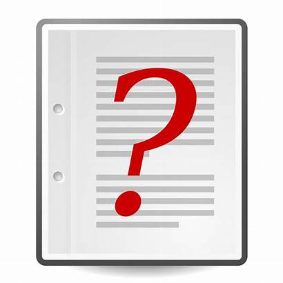 Document Question Mark Svg Clipart Archivo Policy