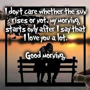 Good Morning Lo... Sweet Mrng Quotes