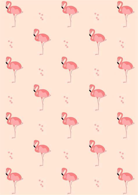 digital flamingo scrapbooking paper ausdruckbares