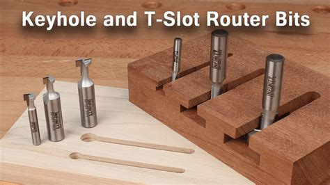 How To Use Keyhole And T-slot Router Bits