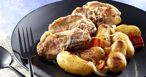 cuisiner du collier d agneau collier d agneau mijoté aux ratte du touquet carottes
