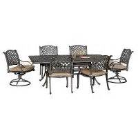 moab world source 7 patio dining set rc willey furniture store