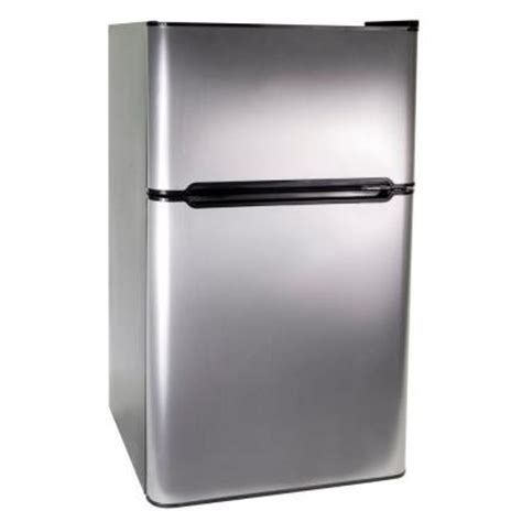 2 door mini fridge haier 3 3 cu ft mini 2 door refrigerator freezer in